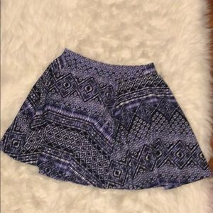 Size small blue skater skirt